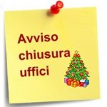 Chiusura natalizia degli uffici dell'Ordine    –        le date